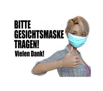 Maskenpflicht und Hygienregeln